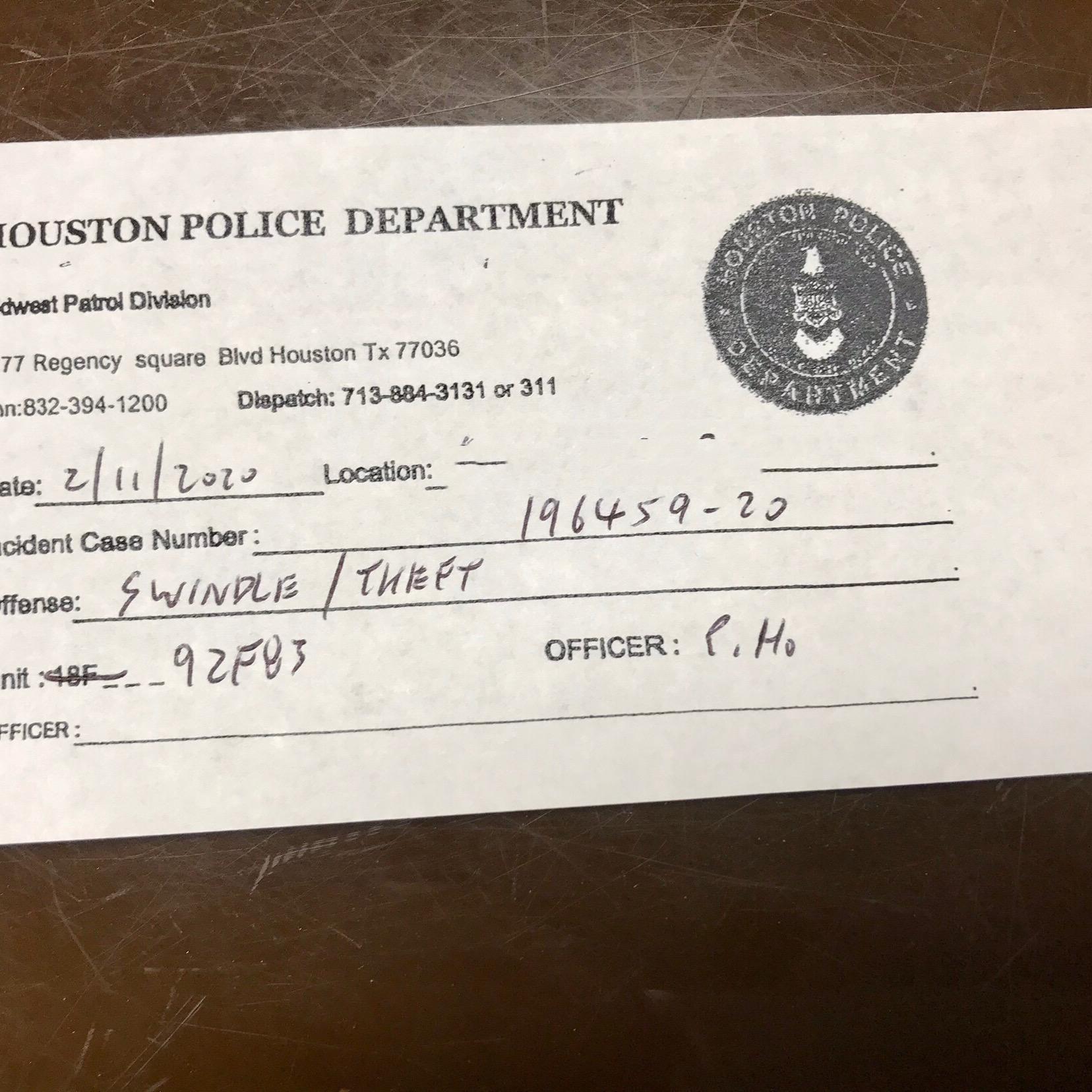 11日遭到詐騙的受害人立即報案,警方立案處理。(記者封昌明/攝影)