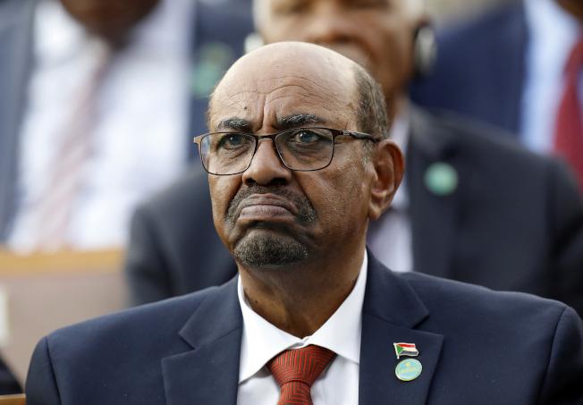 蘇丹前總統巴希爾。(美聯社)