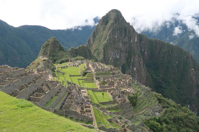 隱藏近500年,於1911年發現的馬丘比丘印加帝國遺址。(圖由作者提供)