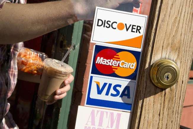 美國年輕人的信用卡債已逾9000億元。(路透)