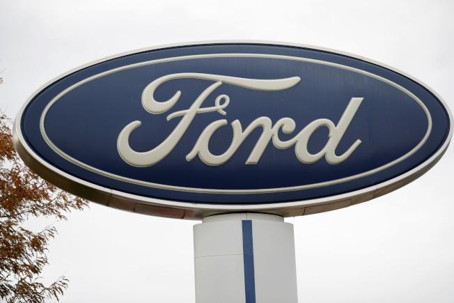 福特汽車因多款車型的懸吊系統可能斷裂造成車禍,因此將召回全球共24萬輛車。(美聯社)