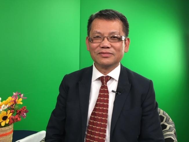 楊光明會計師提醒民眾注意2020年新稅法的變化,趨利避弊。(記者楊青/攝影)