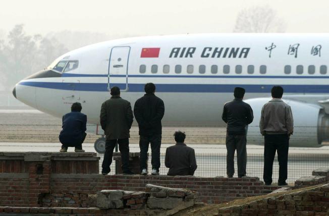 美國運輸部已批准中國航空北京-洛杉磯-舊金山與北京-紐約-華盛頓兩條串飛航線復飛。(美聯社)