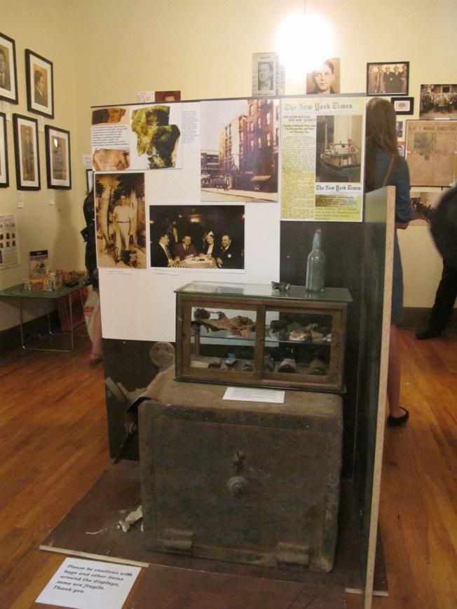 美國黑幫博物館的鎮店之寶是曾經藏有價值2億元錢幣的箱子。(本報檔案照)