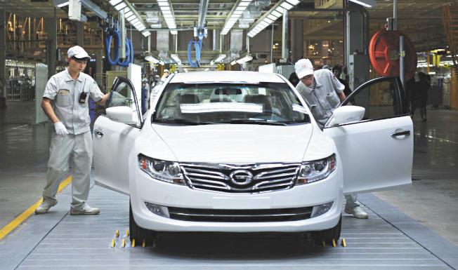 受肺炎影響,中國1月汽車銷量194.1萬輛,年減18%。(新華社資料照片)