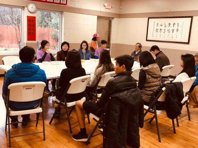 海外青年英語服務營心得分享會。(僑教中心提供)