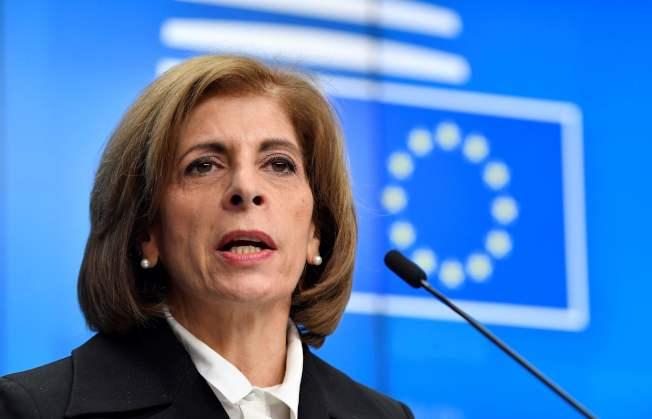 歐盟召開緊急會議,商討如何加強對抗新冠病毒。(Getty Images)