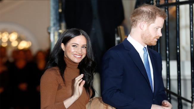 哈利王子和梅根悄悄抵達史丹福大學,為他們要創辦的慈善事業與學術界腦力激盪。(美聯社)