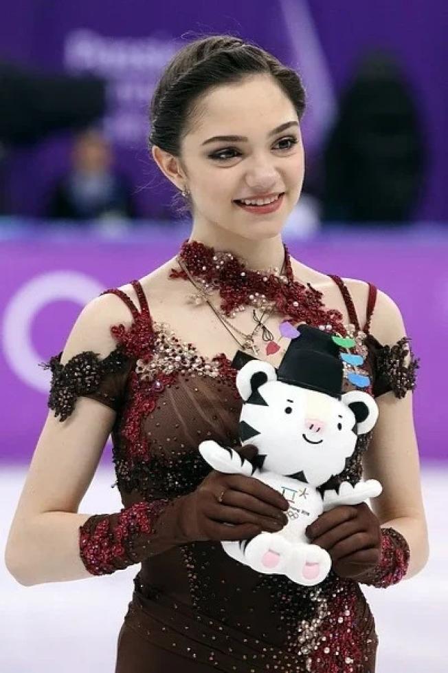 伊芙妍雅曾經參加過平昌冬奧,也因此獲得了不少人氣。取材自Wikipedia