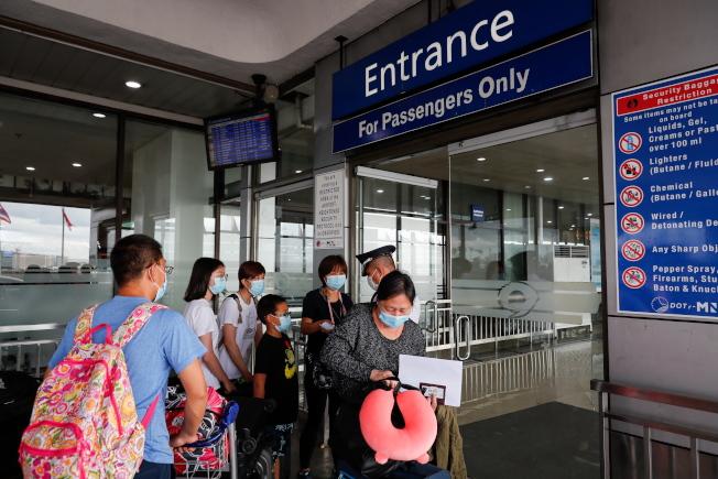 菲律賓對台灣的旅行禁令變來變去。圖為菲律賓馬尼拉艾奎諾國際機場。歐新社