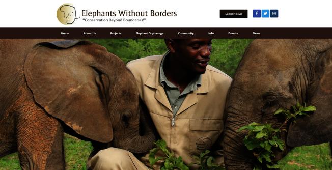 梅根馬克爾將為迪士尼的新片配音,酬勞由迪士尼捐給Elephants Without Borders基金會。(取自Elephants Without Borders)