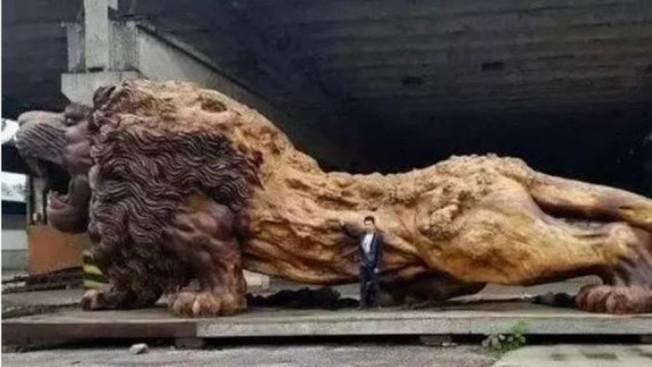 俄勒岡州一個80歲的鰥夫在約會網站被一個不認識的女子騙走20萬元,這名女子說要在佛州建一座藝廊,需從中國運來一尊500噸重的獅子雕像。(俄勒岡州消費者與企業服務廳照片 )
