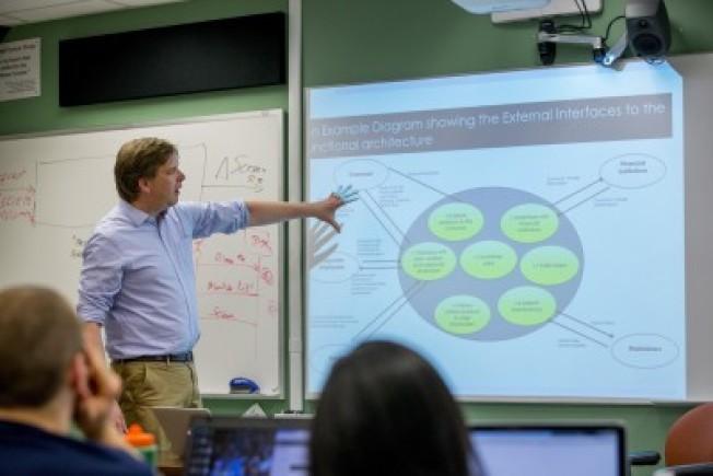 網路課程越來越受到學生歡迎。(Stevens Institute of Technology)