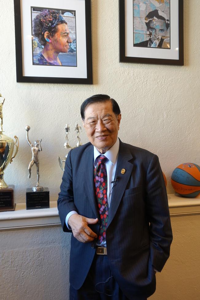 李昌鈺譴責「中國傳播病毒」謠言,籲大家對疫情控制抱有積極心態。(記者金春香/攝影)