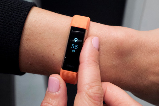 Fitbit的手腕裝置。(Getty Images)