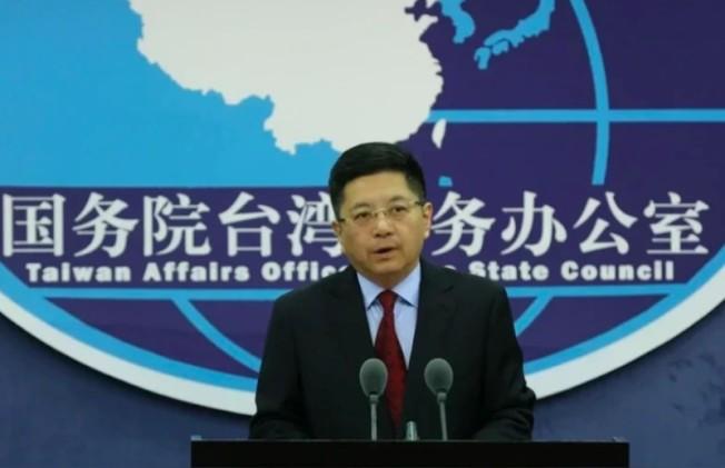 國台辦發言人馬曉光15日不點名痛批「台灣防疫機構負責人」冷血、信口雌黃、說的完全是謊言。(中新社)