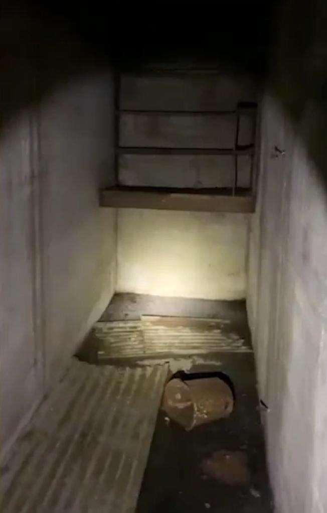 印州男子發現老房子內的秘密空間。(取自臉書)