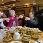 黃屏華埠飲茶購物 籲各界協力支持華社