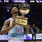 NBA/技術挑戰賽 熱火前鋒阿德巴約奪冠