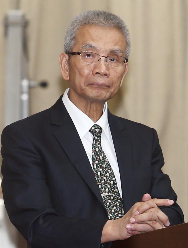 財政部前部長、現任期交所董事長許虞哲病逝,享壽68歲。(本報資料照片)
