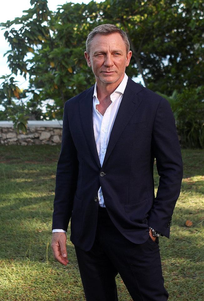 後一次飾演007情報員的英國男星丹尼爾克雷格(Daniel Craig)。(路透社)