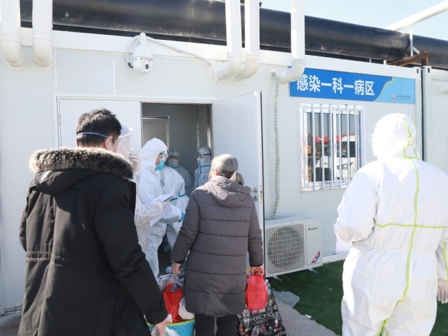 武漢市凌晨公布措施,進一步加強管理防疫。(新華社)