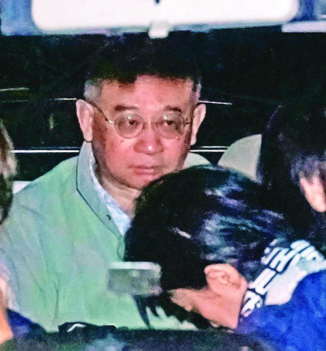 「中國創新投資公司」董事會主席兼行政總裁向心與妻子龔青。(本報資料照片)
