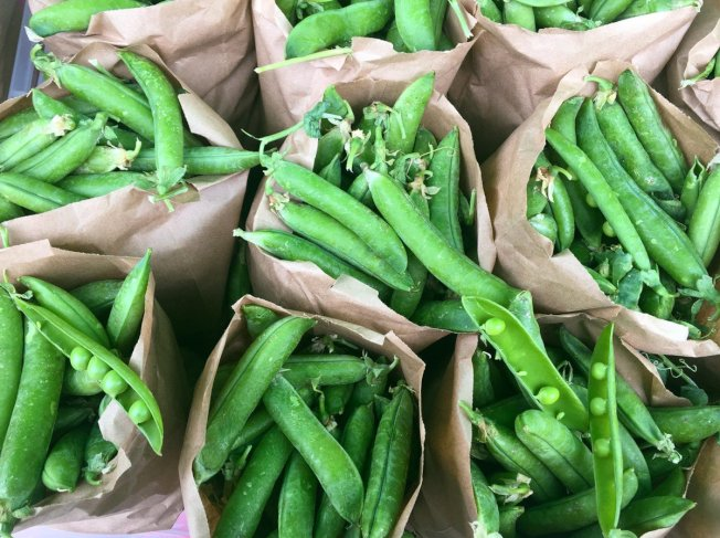 冷凍豌豆80%沒有殘留農藥。( 取自推特)
