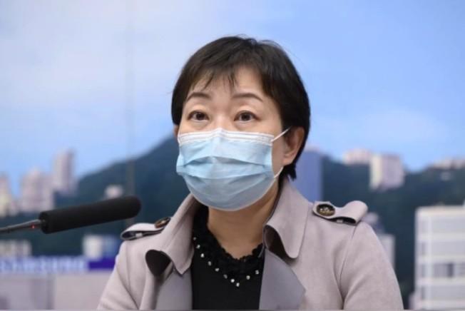 香港衞生署衞生防護中心傳染病處主任張竹君。(香港文匯網)