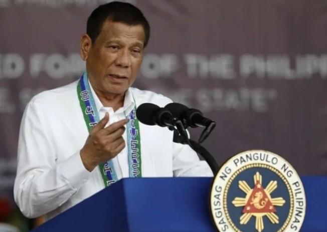 菲律賓總統杜特蒂。圖/歐新社