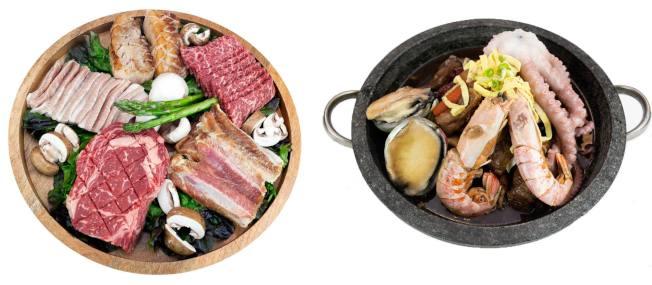 提供正宗傳統韓國燒烤醬料及製程的秘苑韓國燒烤推出多款燒烤套餐組合及特價午餐套餐組合。