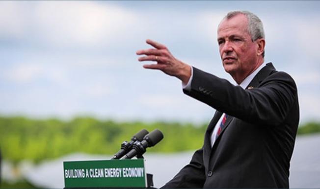 新澤西州長墨菲日前公布「能源掌控方案」。(取自州府官網)