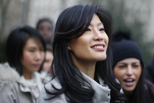 楊安澤的妻子盧艾玲先前接受有線電視新聞網(CNN)專訪時透露,曾遭婦產科醫師哈登性侵。(美聯社)