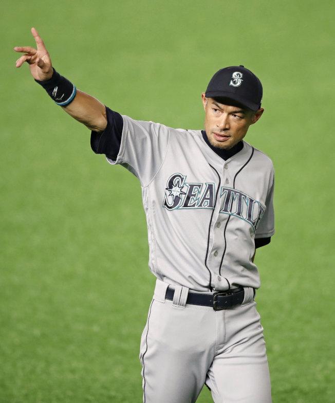 鈴木一朗職棒生涯賺進超過204億日圓。(路透資料照片)