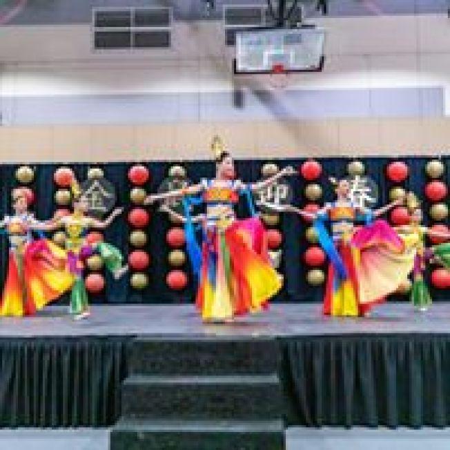 南加中華舞團的「敦煌樂」。(南海岸中華文化中心提供)