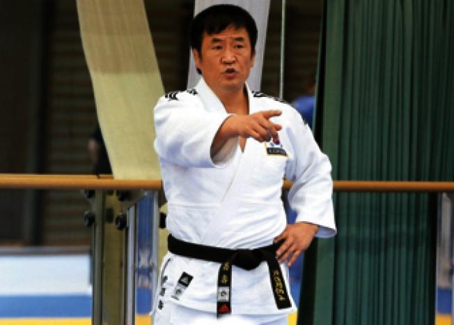 李昌壽2015年來台訓練世大運選手。(本報資料照片)