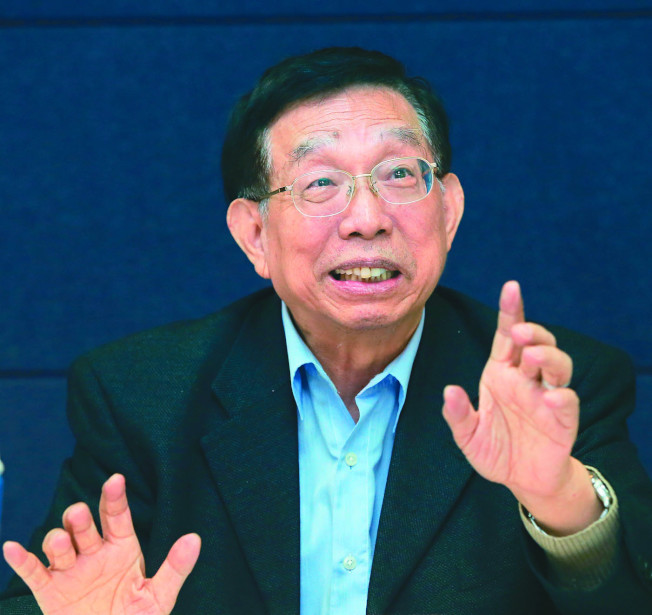 前疾管局長蘇益仁教授表示,未來新冠肺炎將可能成為常態化存在。(記者潘俊宏/攝影)