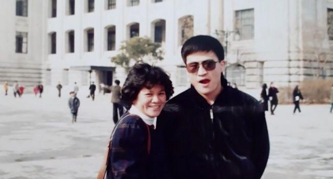 李昌壽與陳鈴真只見過四次面就決定結婚(視頻截圖)