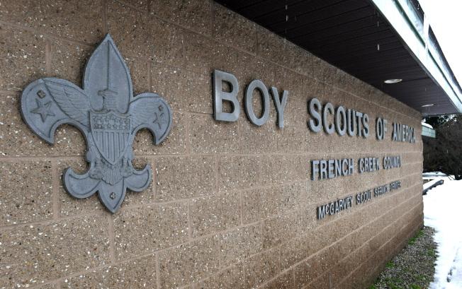 已有百餘年歷史的美國童子軍向法院聲請破產,圖為賓州的美國童子軍總部。(美聯社)