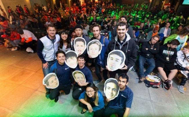 爾灣加大電競選手支持者眾多,享明星待遇。(UC Irvine提供)