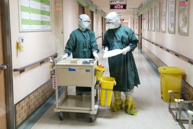 新冠肺炎疫情嚴重。本報資料照片