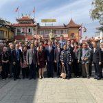 呂元榮拜會羅省中華會館