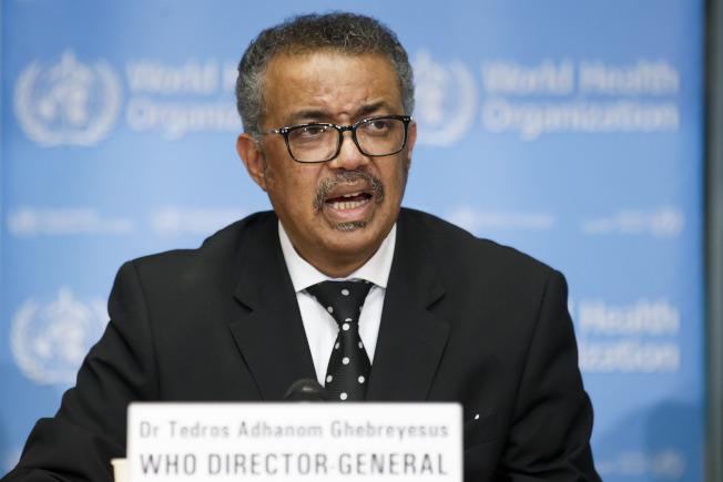 世界衛生組織宣布新冠病毒傳播已成國際關注的公共衛生緊急事件。(美聯社)