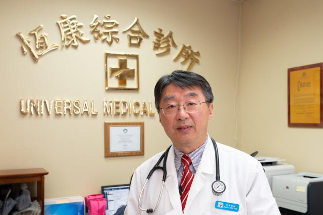 魯兵說,所有年齡段的人都要注意預防新冠病毒。(魯兵提供)