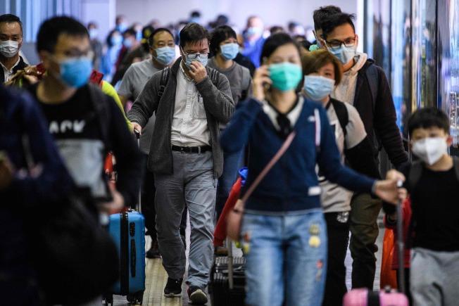 武漢爆發新冠病毒肺炎後,引起北美華人的恐慌。(Getty Images)