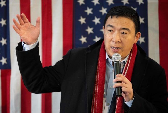 上周宣布退出2020總統大選的華裔企業家楊安澤,將加盟有線電視新聞網(CNN)擔任政治評論員,他將於19日下午以全新身分在CNN亮相。Getty Images