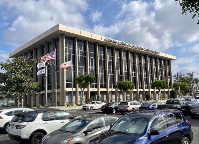 Rancho Santiago Center。(記者尚穎/攝影)