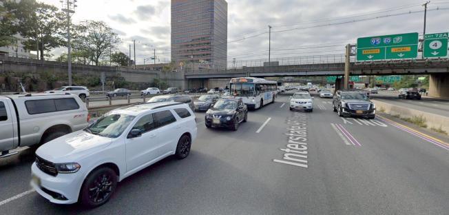 新州95號公路在李堡市與4號公路交接,是全美最壅堵的路段。(Google Map)