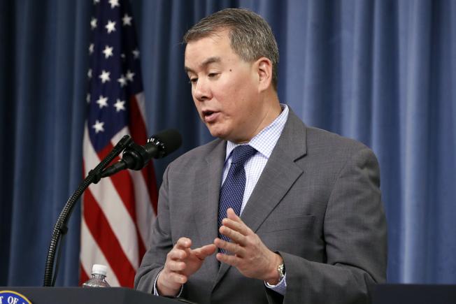 主管政策事務的國防部次長魯德在川普要求下,19日遞出辭呈。(美聯社)