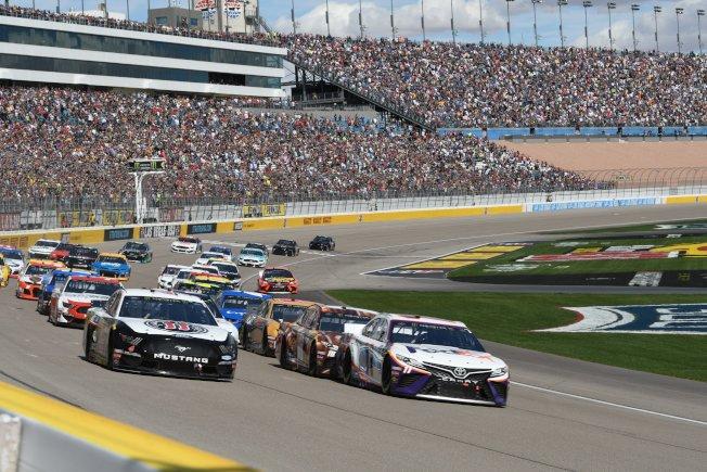 NASCAR大賽車將在LVMS賽車場舉行。(LVMS推特)
